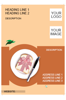 Cream Brown Flyer