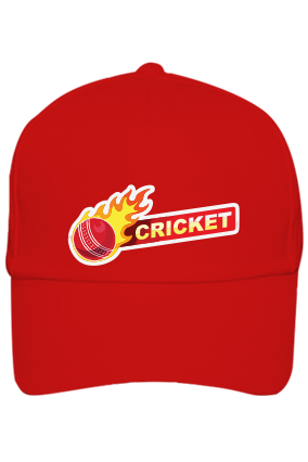 Cricket Ball Red Cap