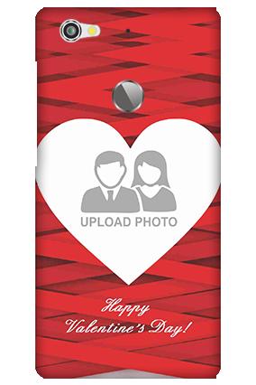Letv Le 1S Big Heart Valentine's Day Mobile Cover
