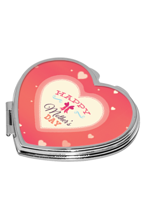 Mother's Day Feeling Heart Mirror