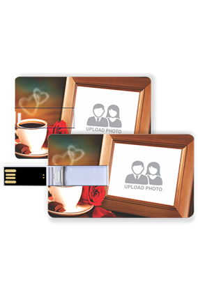 Coffee Credit Card Pen Drive