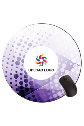 Printed Soothing Round Mousepad