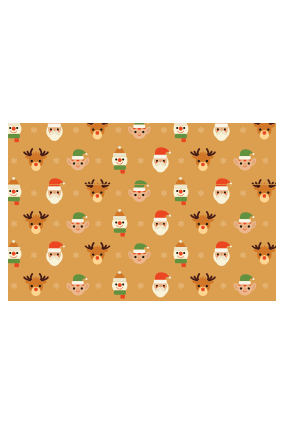 Christmas Fever Wrapping Paper