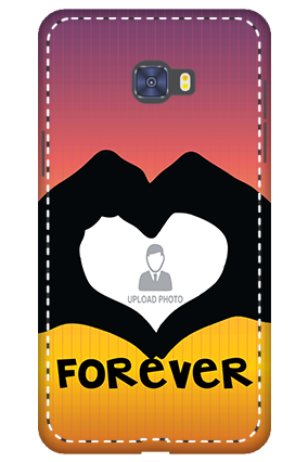 3D -  Samsung Galaxy C7 Pro Forever Mobile Cover
