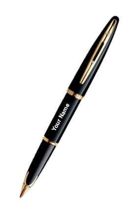 Waterman Carene Black Sea Gt Fountain Pen(Medium Nib)