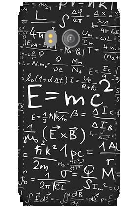 3D - HTC U11 Einstein Tribute Mobile Cover