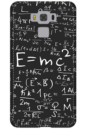 3D - Asus Zenfone 3 Max ZC553KL Einstein Tribute Mobile Cover