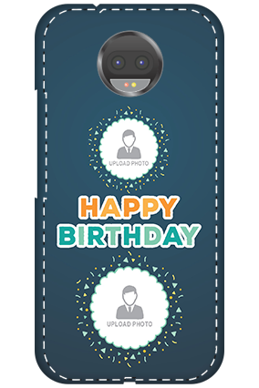 3D - Motorola Moto G5s Plus Birthday Wishes Mobile Cover