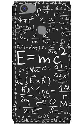3D - Vivo V7 Plus Einstein Tribute Mobile Cover
