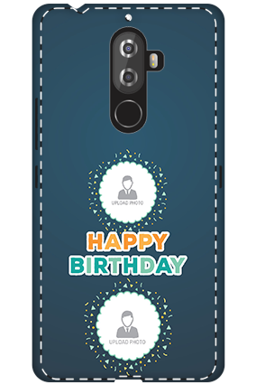 3D - Lenovo K8 Note Birthday Wishes Mobile Cover