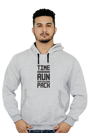 Time To Run With Pack Full Sleeves Hoodie