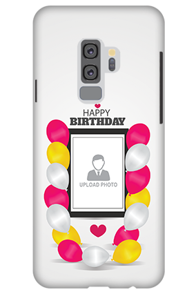Premium 3D-Samsung Galaxy S9 Plus Birthday Greetings Mobile Cover