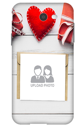 3D-Samsung Galaxy J7 Decent Handmade Heart Mobile Cover