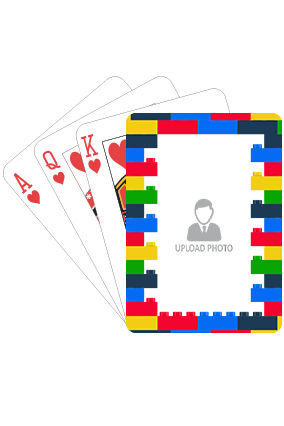 Colorful Lego Playing Cards