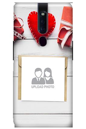 3D-OPPO F11 Pro Decent handmade heart Mobile Covers