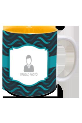 Awesome Personalized Designer Inside Yellow Mug
