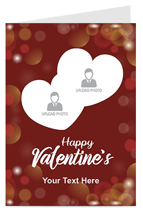 Romantic Valentine's Day Greeting Card