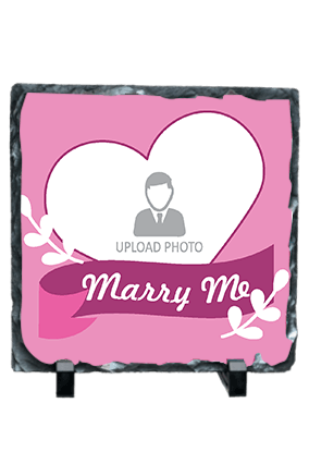 Marry me Photo Frame