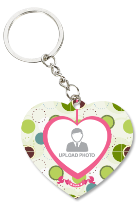 Cool Heart Key Chain