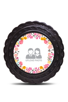 Flowers Table Wooden Photo Frame