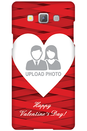 Samsung Galaxy A5 2015 Big Heart Valentine's Day Mobile Cover