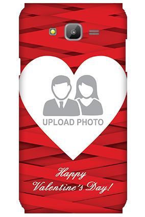Samsung Galaxy J7 Big Heart Valentine's Day Mobile Cover