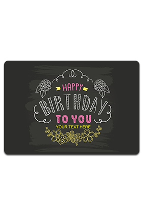 Personalized Birthday Table Mat