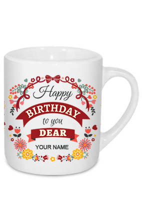 Birthday Dear Tea Mug