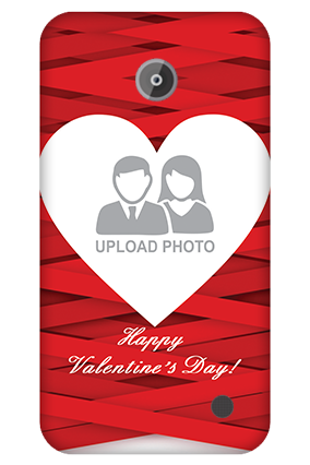 Nokia Lumia 630 Big Heart Valentine's Day Mobile Cover