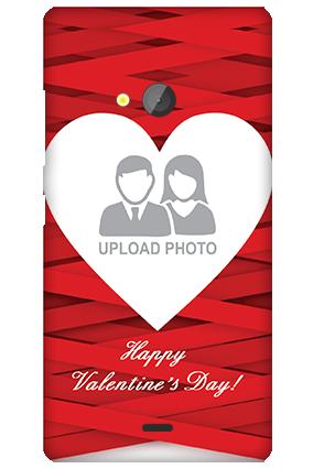 Silicon - Microsoft Lumia 540 Big Heart Valentine's Day Mobile Cover