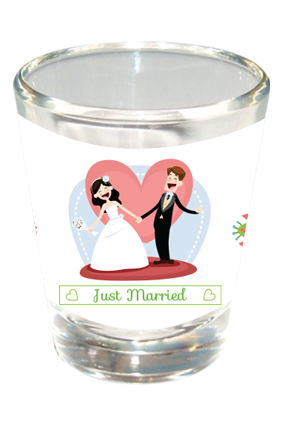 Dance With Me Shot Glass