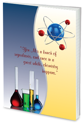 Effit Chemistry Quote Notebook