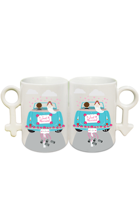 Adorable Couple Coffee Mug