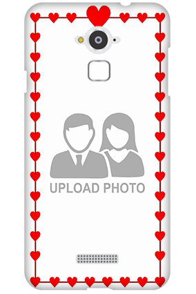 Personalized Silicon - Coolpad Note 3 Heart Valentine's Day Mobile Cover