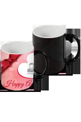 Married Happily Black Magic Mug