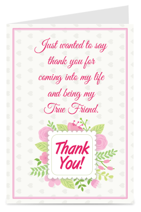 Lovable Thank You Card