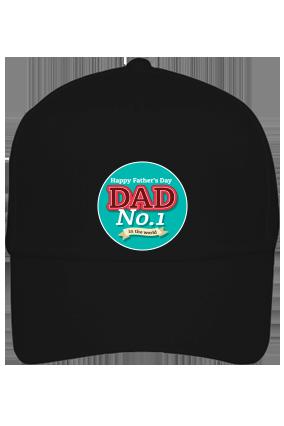 Dad No. 1 Black Cap