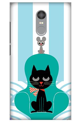 3D - Xiaomi Redmi Note 4 Cat Mobile Cover