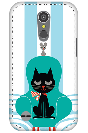 3D - LG K10 (2017) Cat Mobile Cover