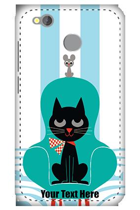 3D -  Redmi 4 Cat Mobile Cover