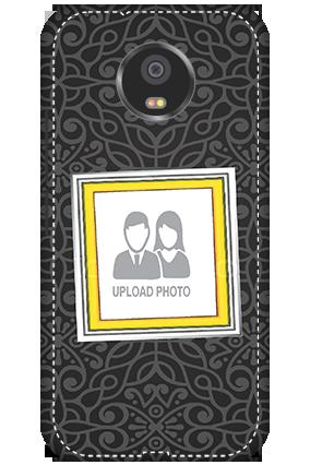 3D - Motorola Moto G5S Black Designer Mobile cover