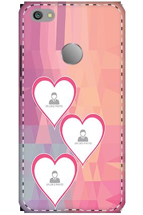 3D - Xiaomi Redmi Note 5A Pinkish Heart Mobile Cover