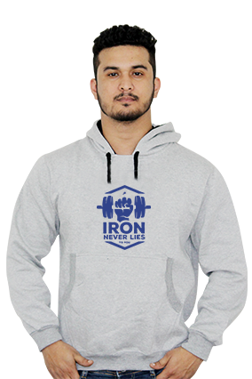 Cool Iron Never Lies Full Sleeves Hoodie