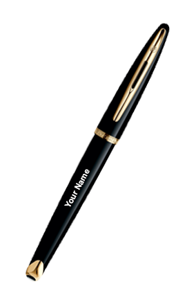 Waterman Carene Black Sea Gt Roller Ball Pen