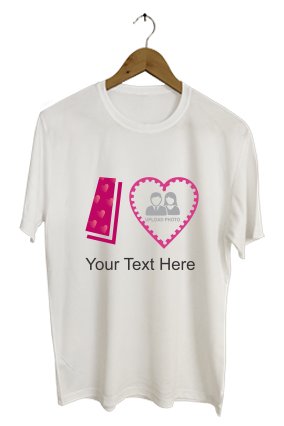 Buttery Love Dri-Fit White T-shirt