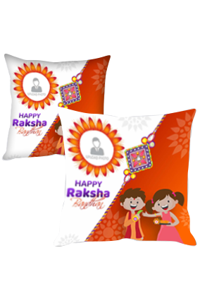 Great To Have You Sister Personalized Raksha Bandhan Cushion Cover