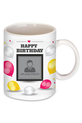 Bright Birthday Bone China Mug