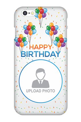 Apple I Phone 6 Birthday Greetings Mobile Cover