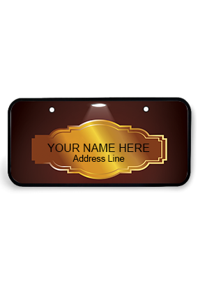 Creative Wooden Nameplate