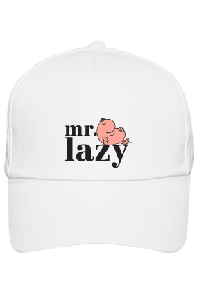 Mr. Lazy Cap with Name